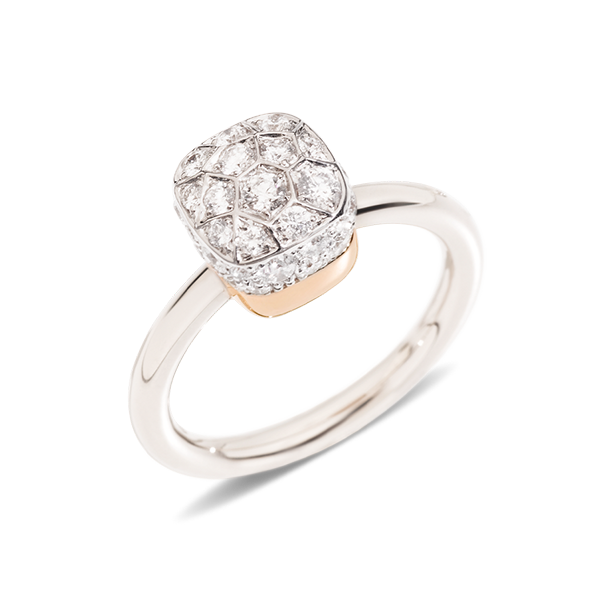 Ring Nudo Soltaire